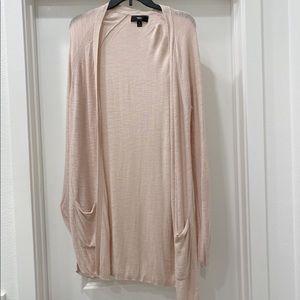 ❄️Blush color long sleeve cardigan